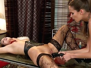 And Nasty Silvie Delux Ties Up Anetta