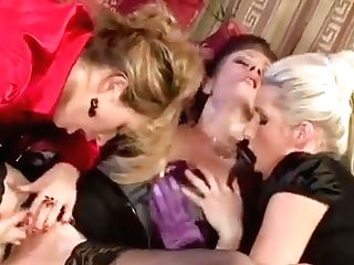 Lovelies In Heats Pose Clothed While Making Out In Scenes