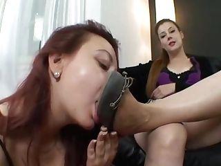 Queen Victoria Decent Foot Bitch Training Part 1