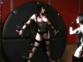 All Girl Mistress Spanking Her Slavegirl