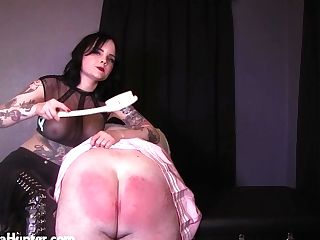 Paddled Submissive Student Learns A Painful Lesson