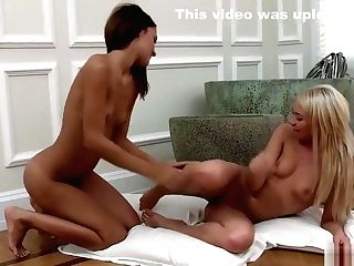 Gorgeous Nymphs Have Joy On The Floor