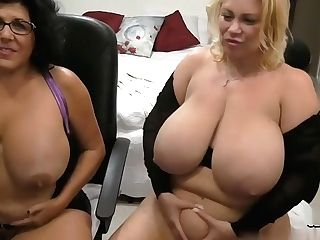 Big Tits Samantha38g And Her Clubmate Dark Haired Peddle Their Wares On Web Cam