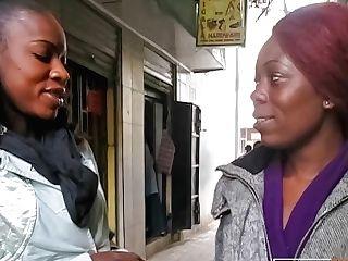 'g/g Dark-hued Street Picked Up Has Her Cooch Eaten'