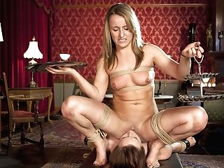 Cherry Ripped & Bella Rossi & Jessie Cox In Bra-less Tapas Training Part Two - Theupperfloor