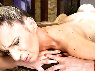 Steamy And Wild Matures And Nymph Intercourse With Blonde Conchita