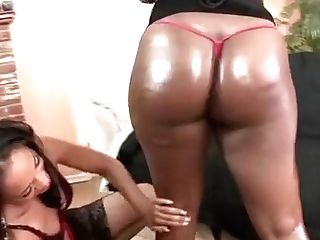 Smoking Hot Black Bitches Go Lesbo For Each Other's Big Raw Butt