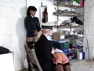 Exotic Military Women Are Spanking Each Other Fairly Often, Because It Excites Them A Lot