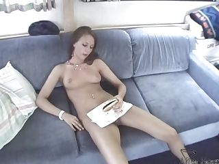 Eating Her Out On The Couch With Friends Watching - Afterhoursexposed